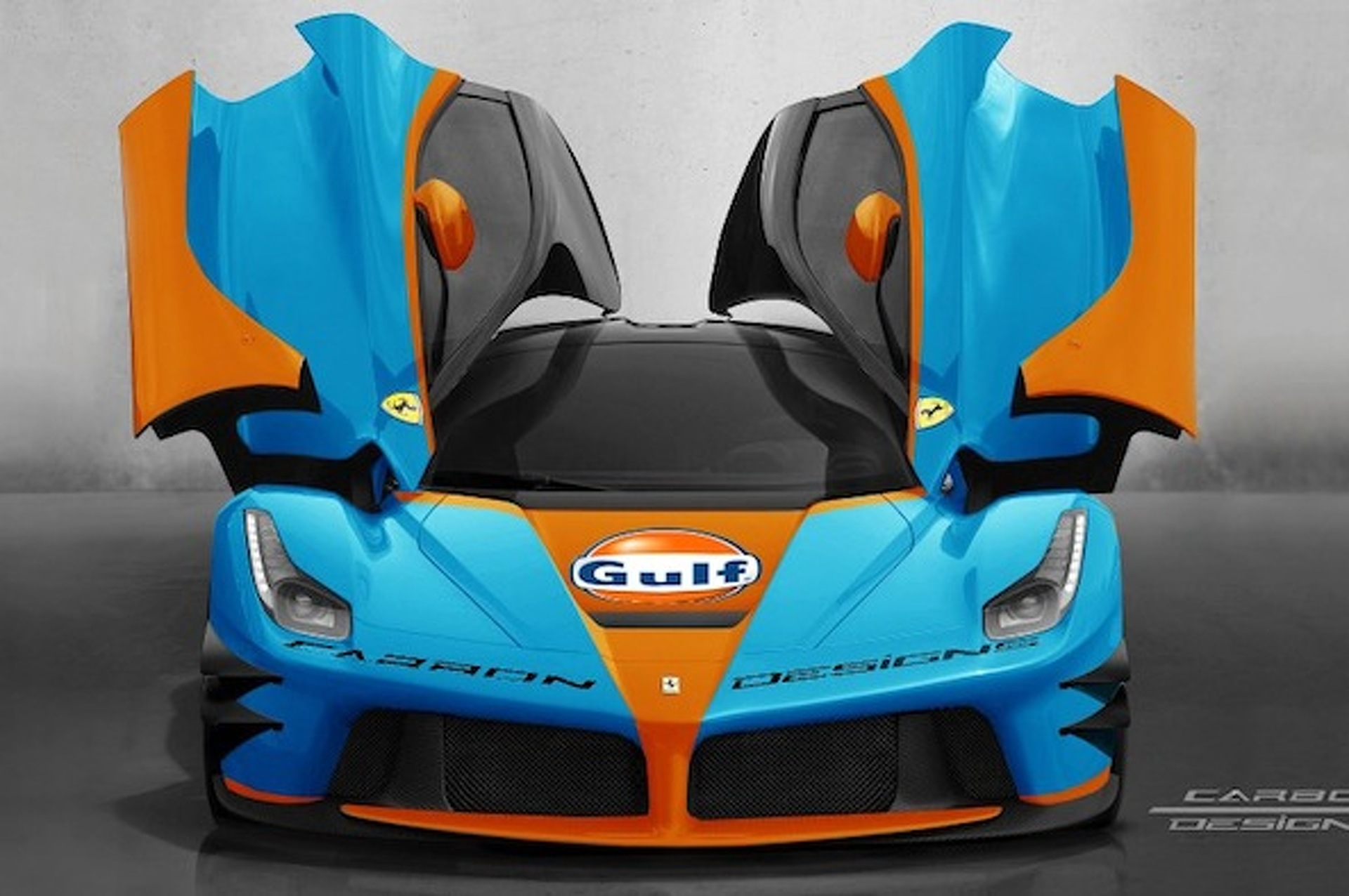 LaFerrari Sports Gulf Racing Livery