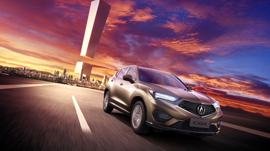 Acura CDX is brand's first model to be built in China