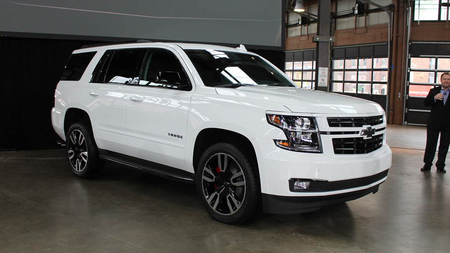 2018 Chevy Tahoe RST | Motor1.com Photos
