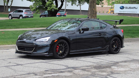 It's Real! Subaru BRZ STI Prototype Caught Testing