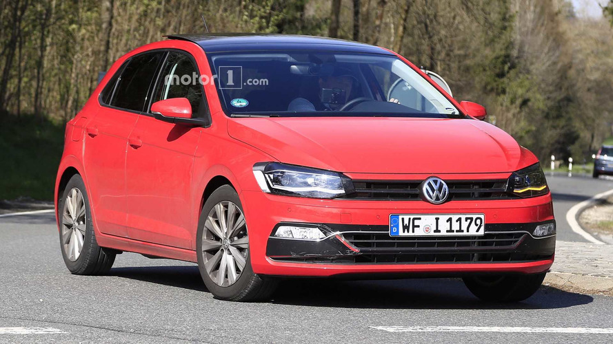 2018 VW Polo Spied With Very Little Camouflage