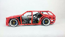 Custom Lego drift wagon