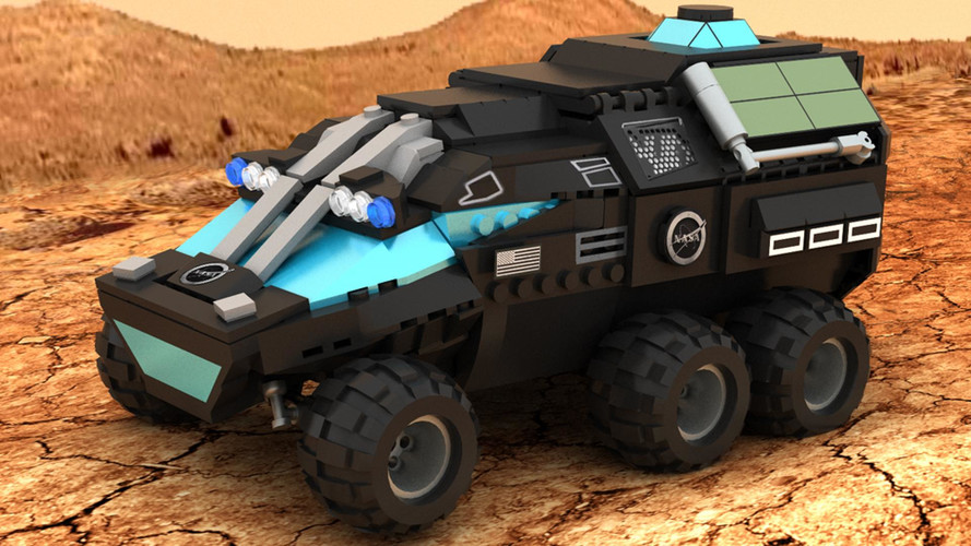 NASA Mars Rover Concept Already Surfaces As A Lego Project