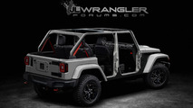 Jeep Wrangler Unlimited 2018 render