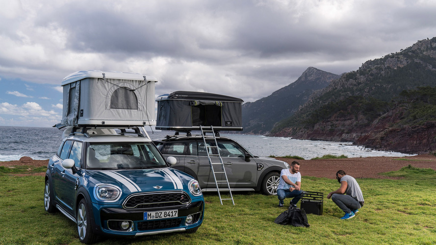 Mini Countryman çadırı