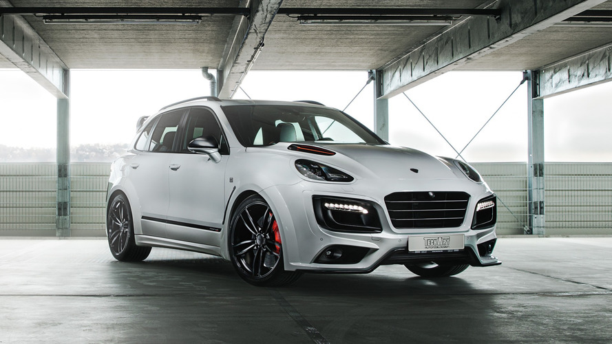 720-HP Porsche Cayenne Turbo S Marks TechArt's 30th Anniversary
