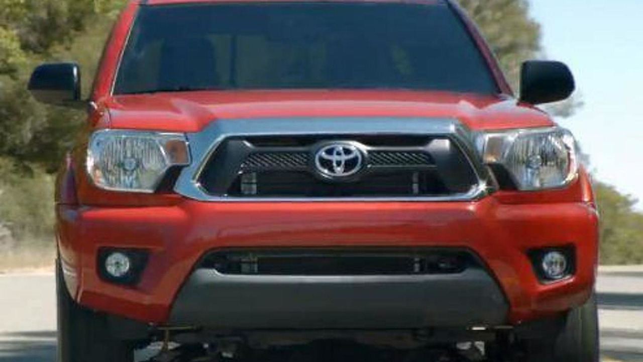 2012 Toyota Tacoma leaked photo - 19.8.2011
