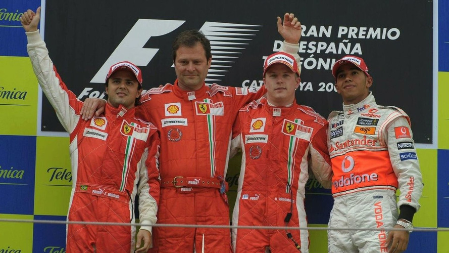 Raikkonen Wins Spanish GP