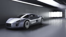 Gumpert Tornante by Touring, studio photoshoot