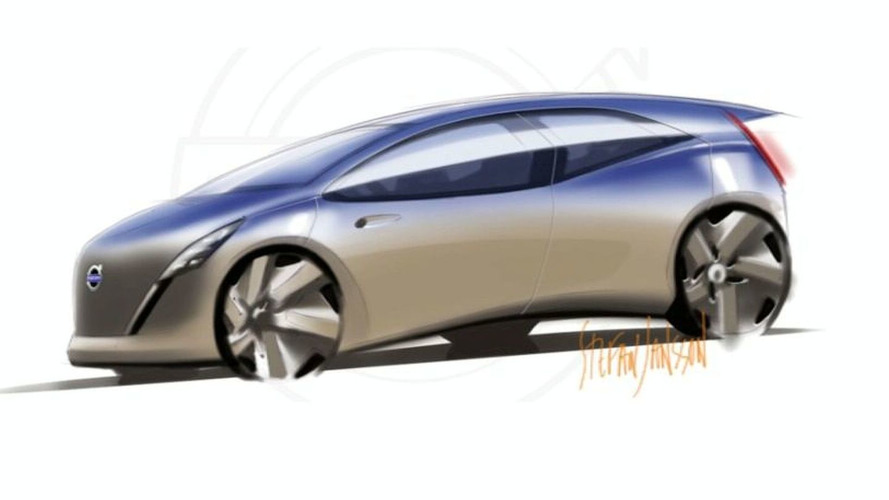 Alleged Future Volvo Electric Vehicle Sketch Surfaces