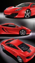 2010 McLaren MP4-12C - Red Livery