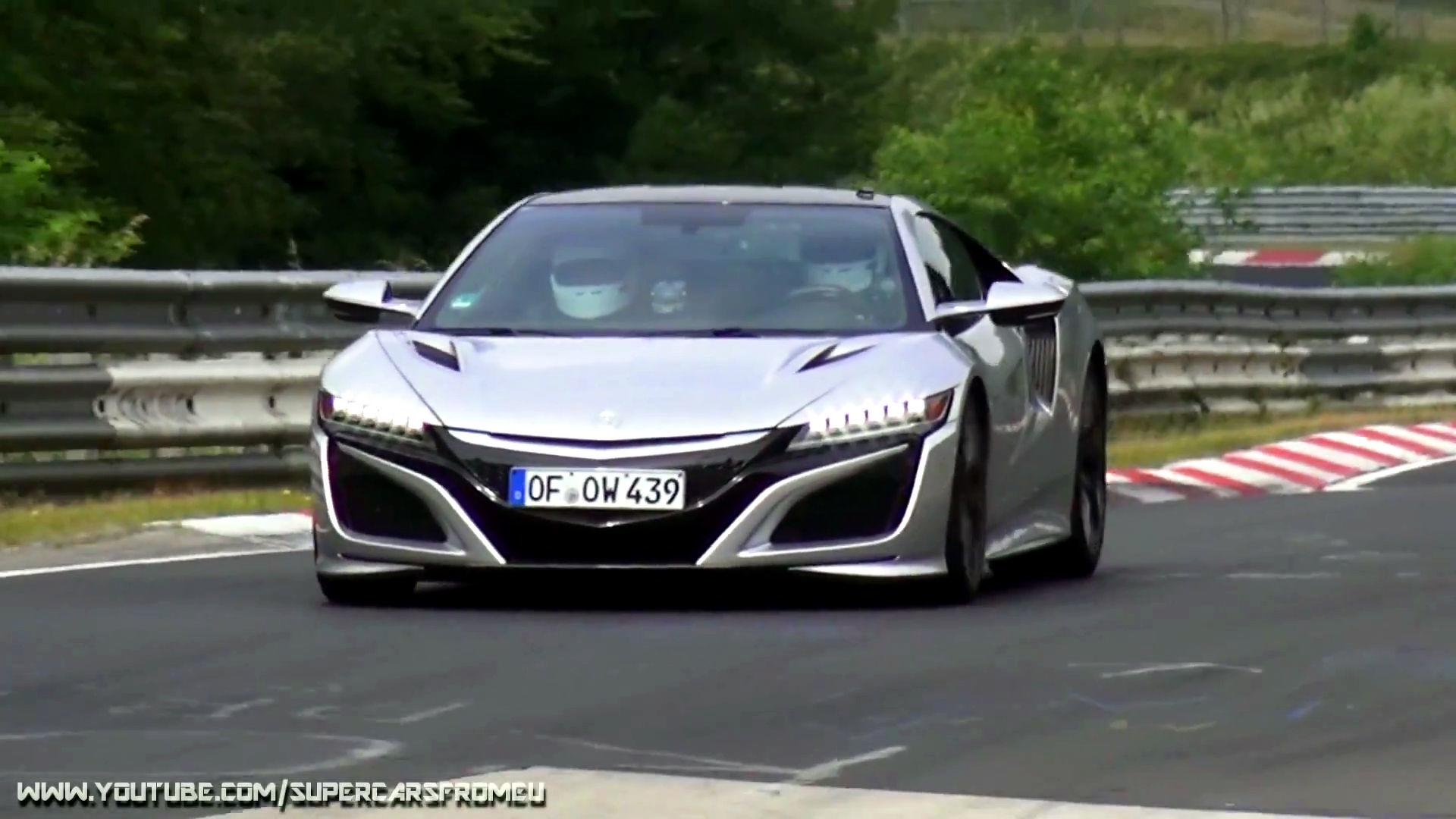 Mysterious Acura Nsxs Testing On N Rburging Could Preview Type R