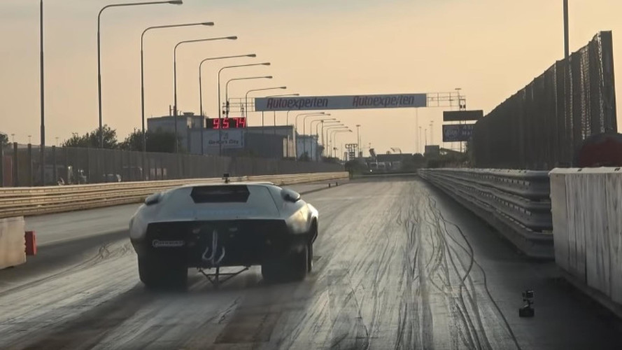 New 1/8-Mile World Record Set By Electric TC-X - Awesome Video