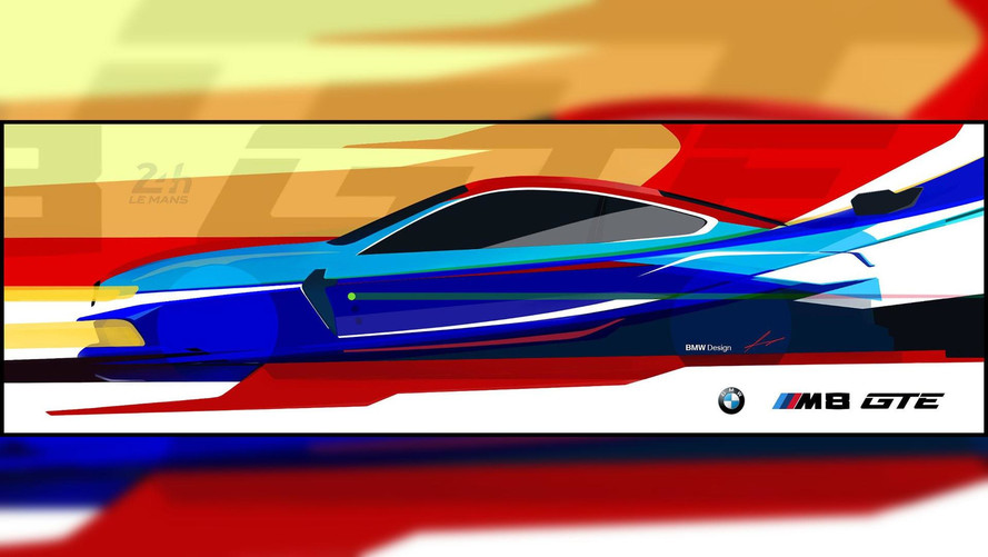 BMW M8 race vehicle first look