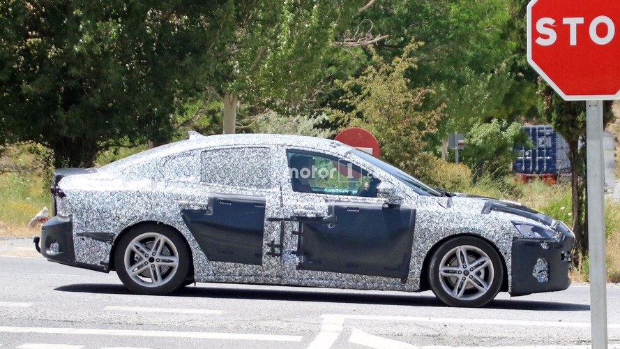 New Ford Focus Sedan Caught Failing To Hide Its Larger Body