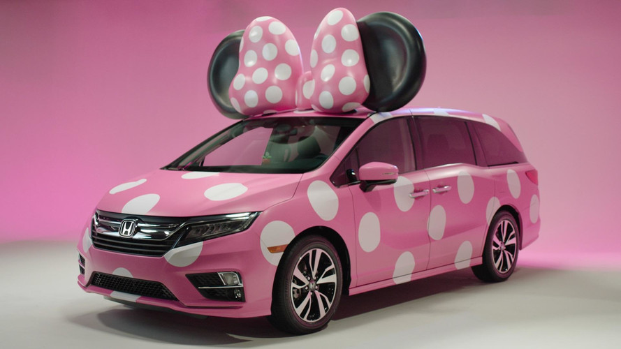 Honda Creates Adorable Odyssey 'Minnie' Van For Disney's D23