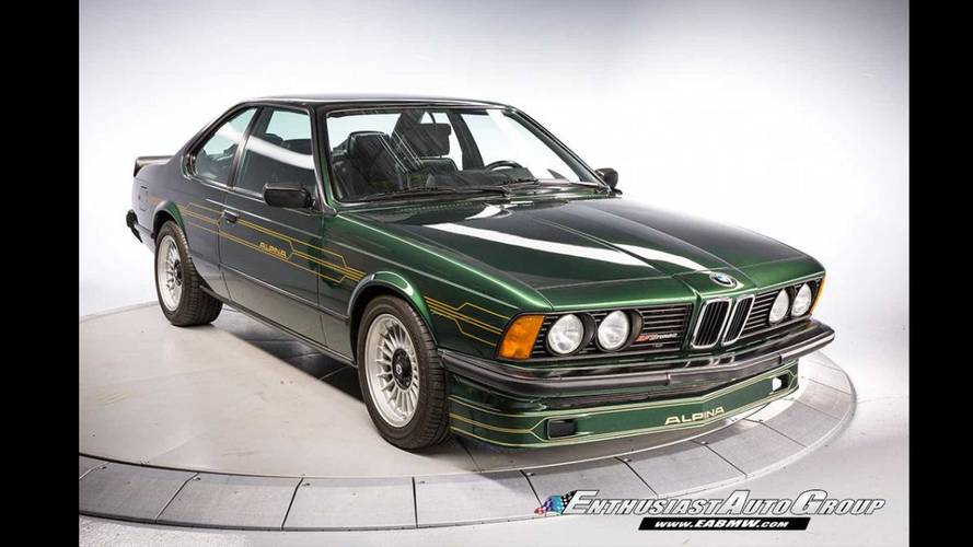 Is This Rare 1982 BMW Alpina B7S Turbo Coupe Worth $300,000?