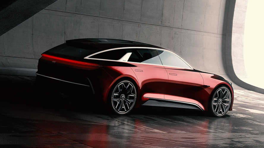 Kia Teases Shooting Brake Concept