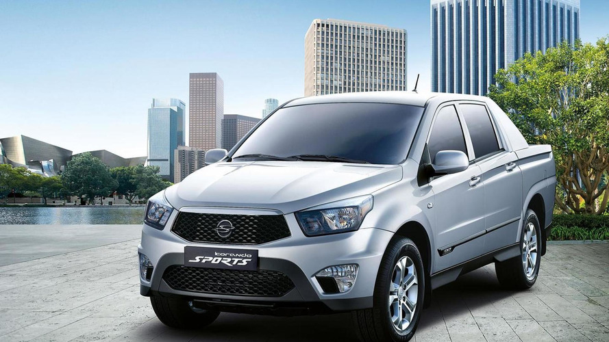 SsangYong Korando Sports arriving this fall (UK)