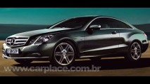 Fotos oficiais do Novo Mercedes-Benz Classe E Coupé 2010 vazam na internet