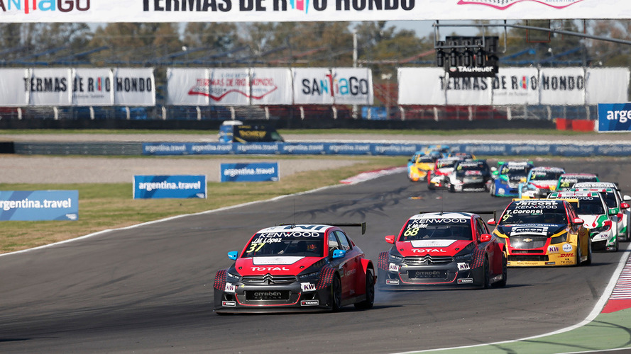 Pas de DRS ou de push-to-pass en WTCC