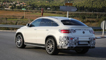 Mercedes GLE 63 AMG Coupe spied virtually undisguised