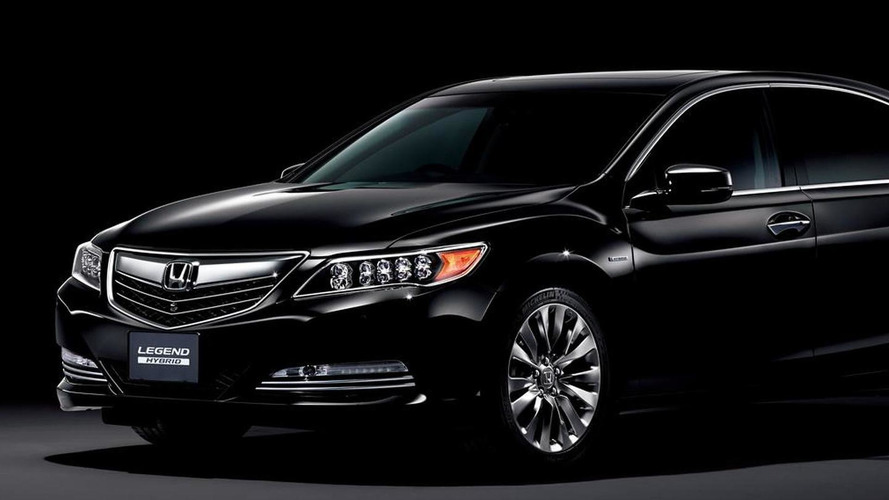 2015 Honda Legend launched in Japan as rebadged Acura RLX Sport Hybrid