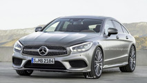 Third generation Mercedes-Benz CLS render