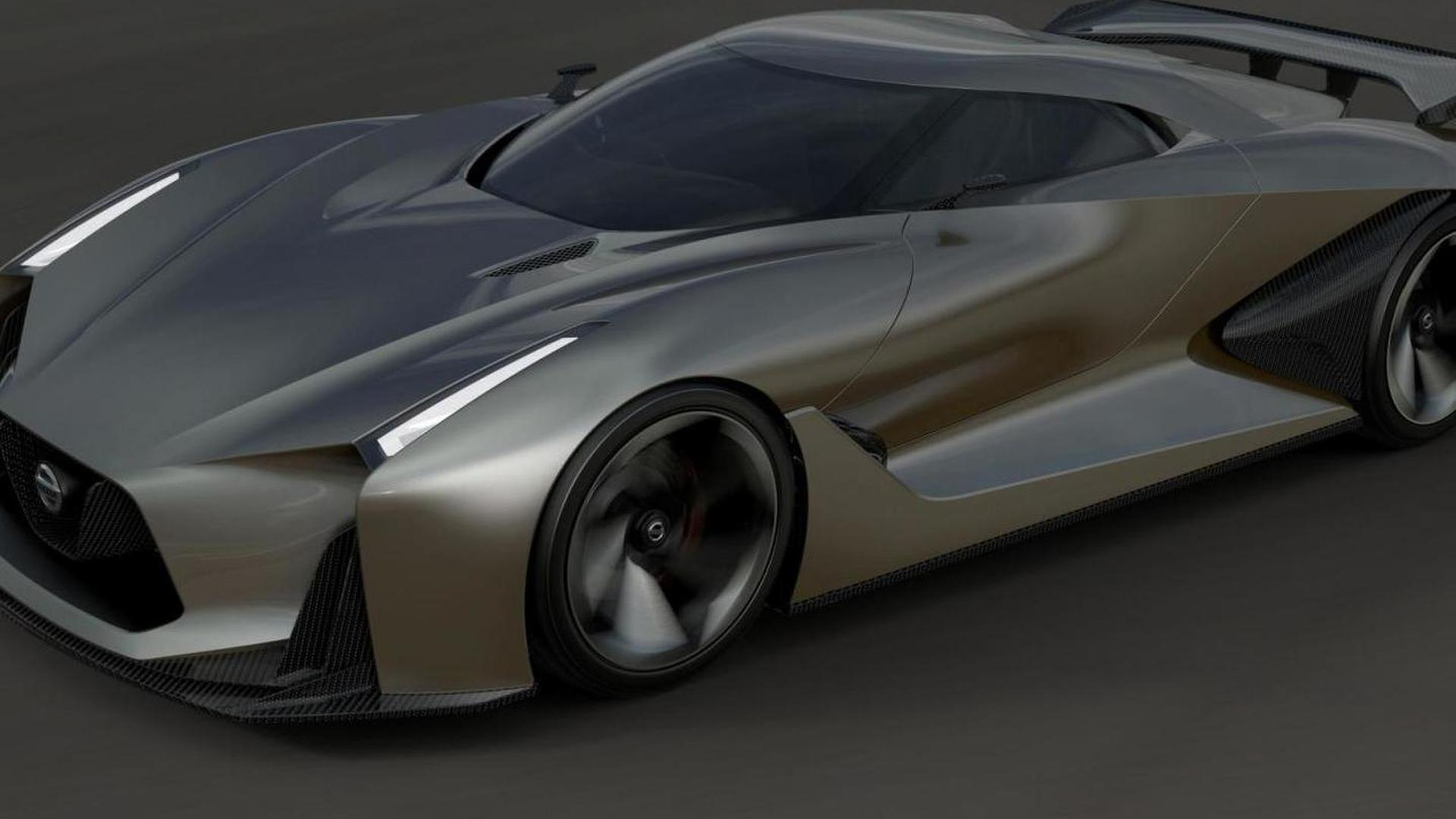 Next Nissan GT-R could resemble the Concept 2020 Vision ...