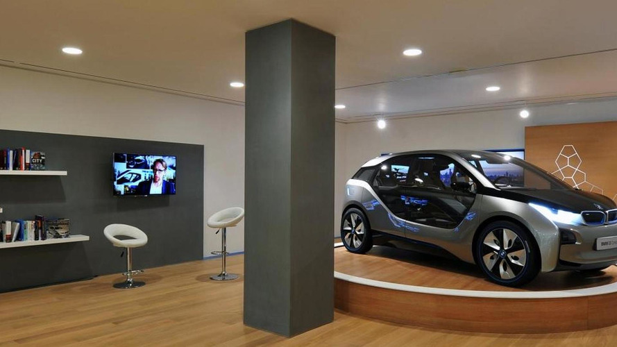 BMW UK to sell 'i' models through 46 dealers
