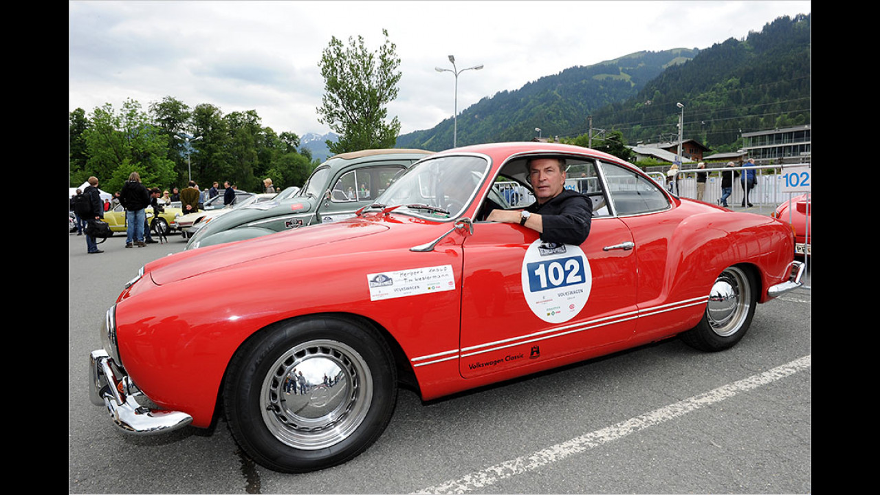 Herbert Knaup: VW Karmann-Ghia