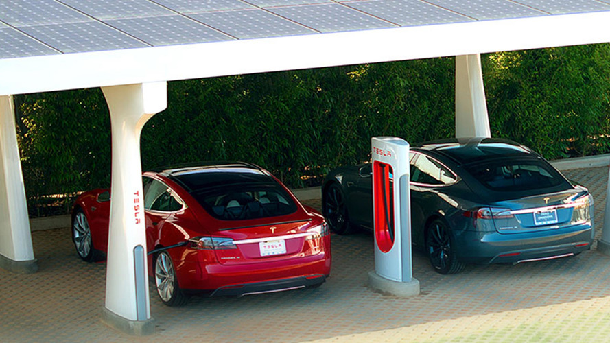 Tesla Supercharger Network