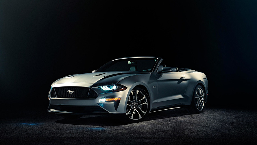 Refreshed 2018 Ford Mustang Convertible opens up with latest upgrades