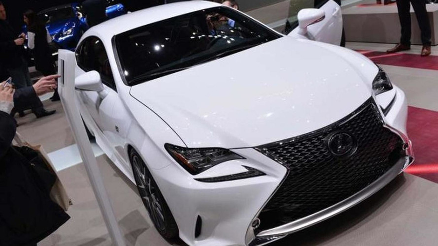 Lexus RC 350 F SPORT brings huge spindle grille to Geneva