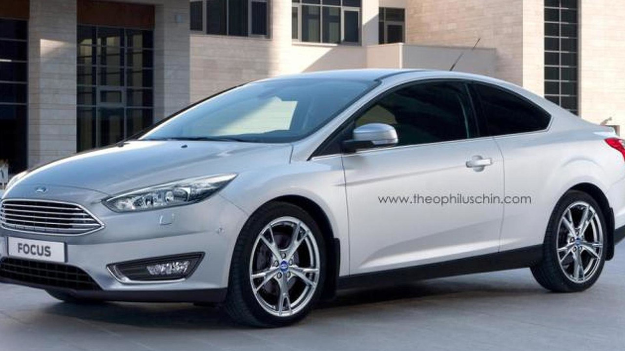 Ford Focus Coupe rendering / Theophilus Chin