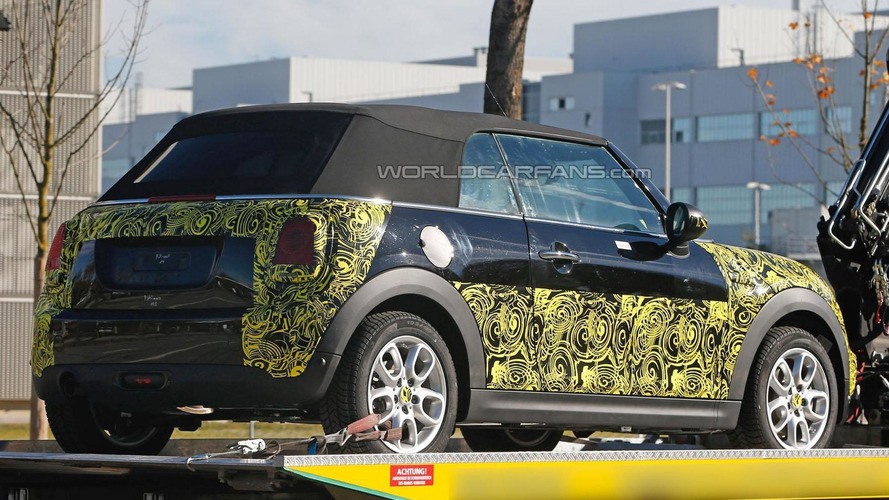 2014 MINI Cooper Convertible spied for the first time