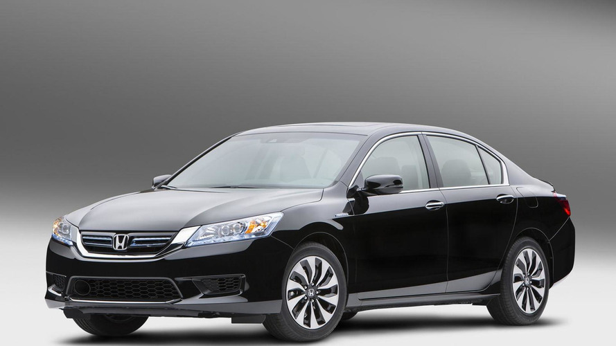 2014 Honda Accord Hybrid revealed