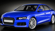 Audi A4 renders based on the Sport Quattro Concept appear online