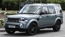 2014 Land Rover Discovery facelift returns in spy photo session