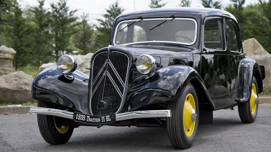 Citroen celebrates the 80th anniversary of the Traction Avant