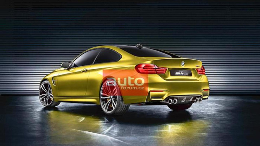 BMW M4 Coupe concept leaked again