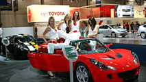 Lotus Elise S at British Motor Show