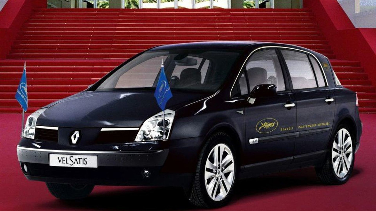 Renault Vel Satis 3.5 V6 at Cannes Film Festival