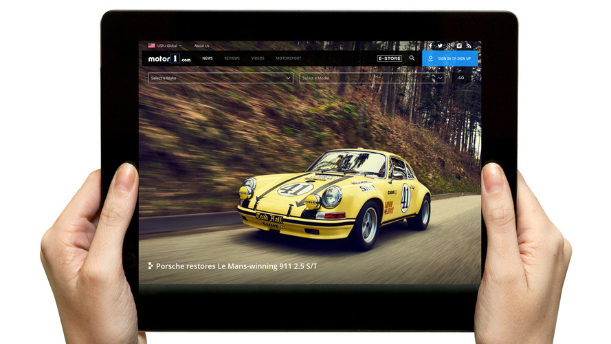 Motor1.com enhances automotive enthusiasts user experience with the launch of new website