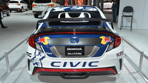 2016 Honda Civic Coupe Rallycross live at New York Auto Show