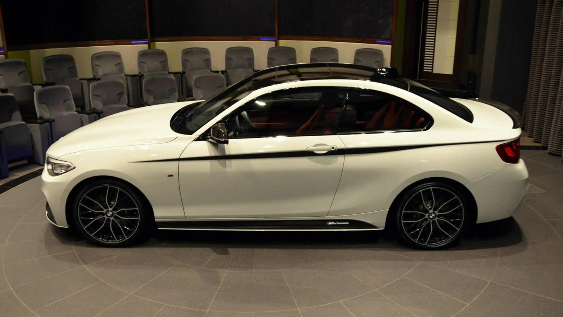 bmw m235i packed with m performance goodies. Black Bedroom Furniture Sets. Home Design Ideas