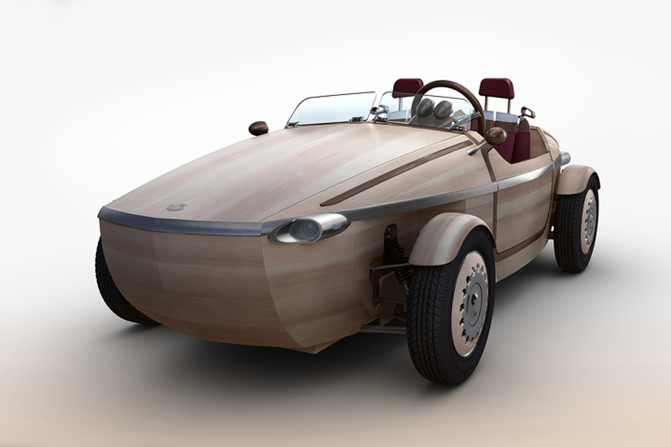 Toyota Branches Out with Wooden Setsuna Concept Car