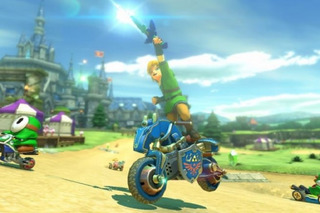 Now You Can Race as Link in Mario Kart 8