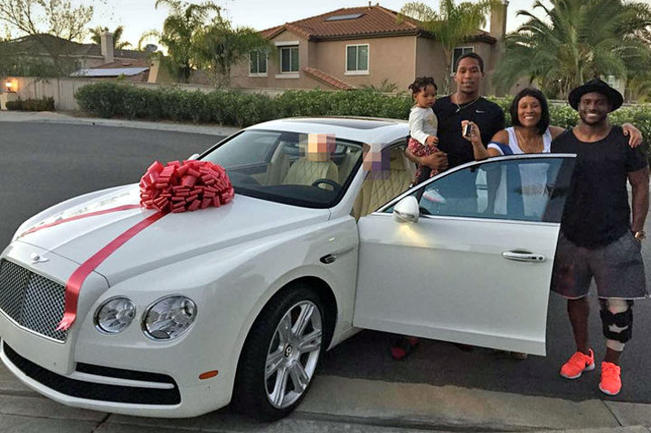 Reggie Bush Gifts His Mom a Bentley for Her Birthday