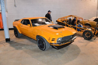 Someone Found This Beautiful Ford Mustang Boss 429 in a Junkyard
